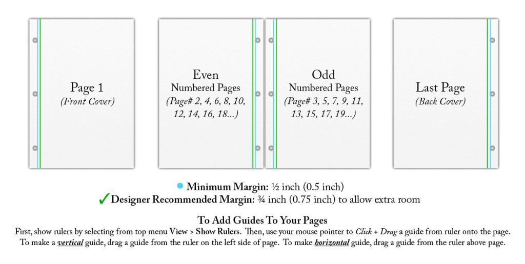 3 Hole Punch Margins Recommendation