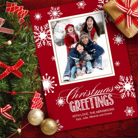 Create custom Holiday and Christmas cards with Focus in Pix free software