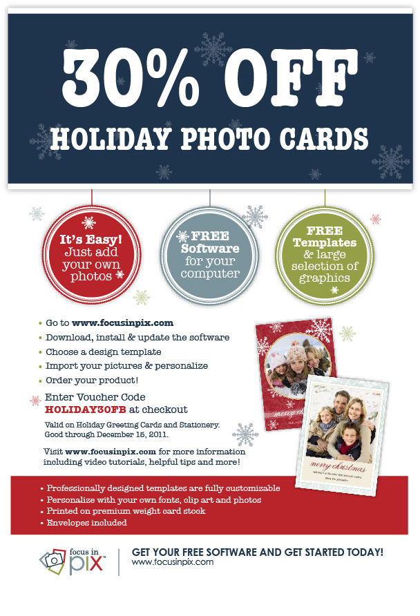 Focus in Pix Holiday Coupon 2011