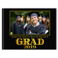 Bold Glitter - Graduation Photo Memory Book
