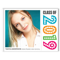 Simply Colorful - Graduation Photo Memory Book