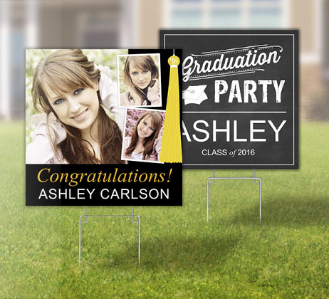 Focus in Pix Graduation Yard Signs