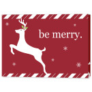 Merry Reindeer, Focus in Pix Holiday Christmas Card