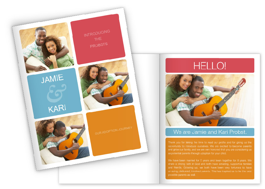 Focus In Pix Adoption Profile Book