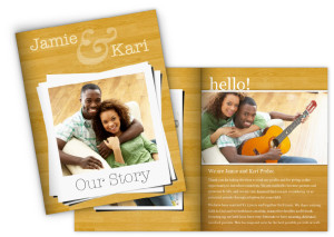 Focus in Pix Adoption Profile Book Template