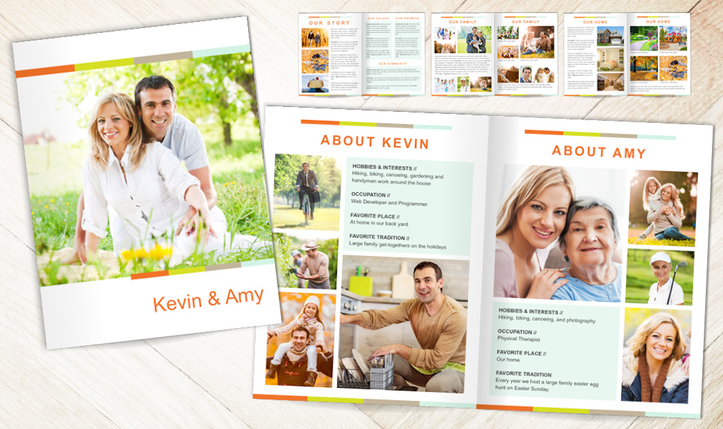 Focus in Pix Adoption Profile Book and Pages