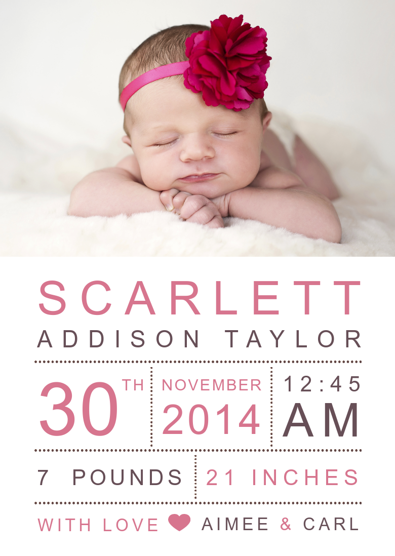 focus in pix baby announcements and baby shower invitations