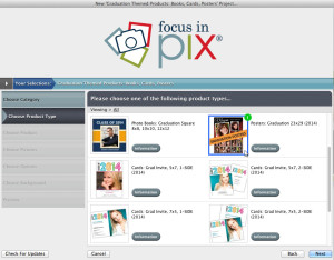 Create a new Focus in Pix project