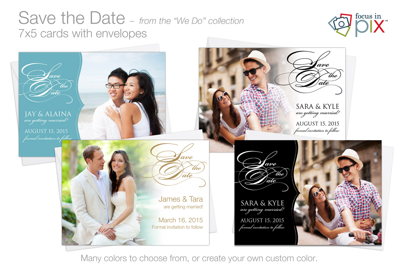 """We Do"" - ""Save the Date"" cards"