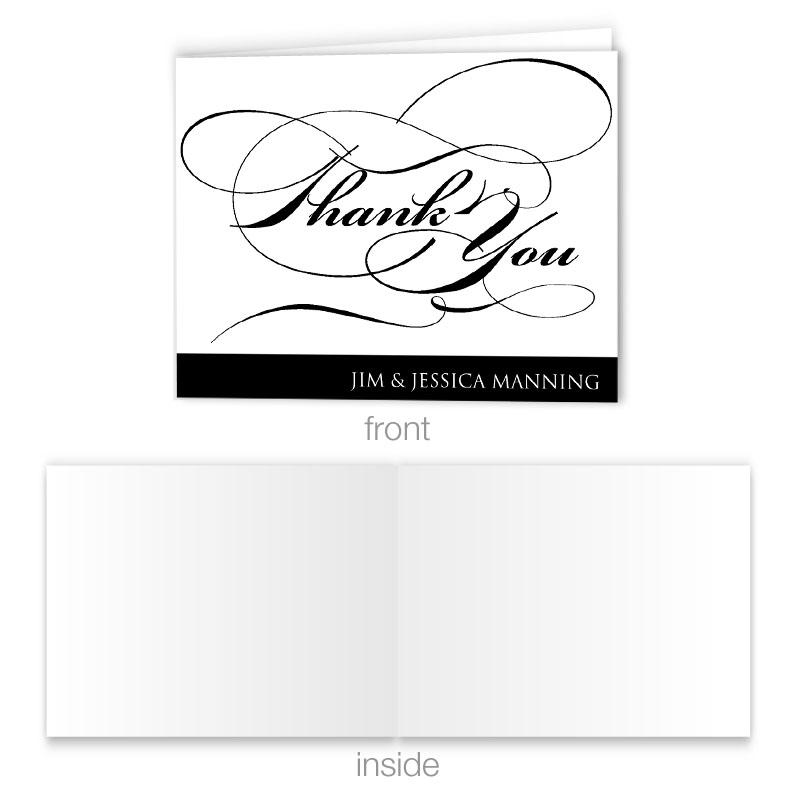 We Do Thank You Fold Card