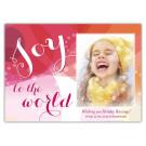 Abstract Celebration Holiday Christmas Card