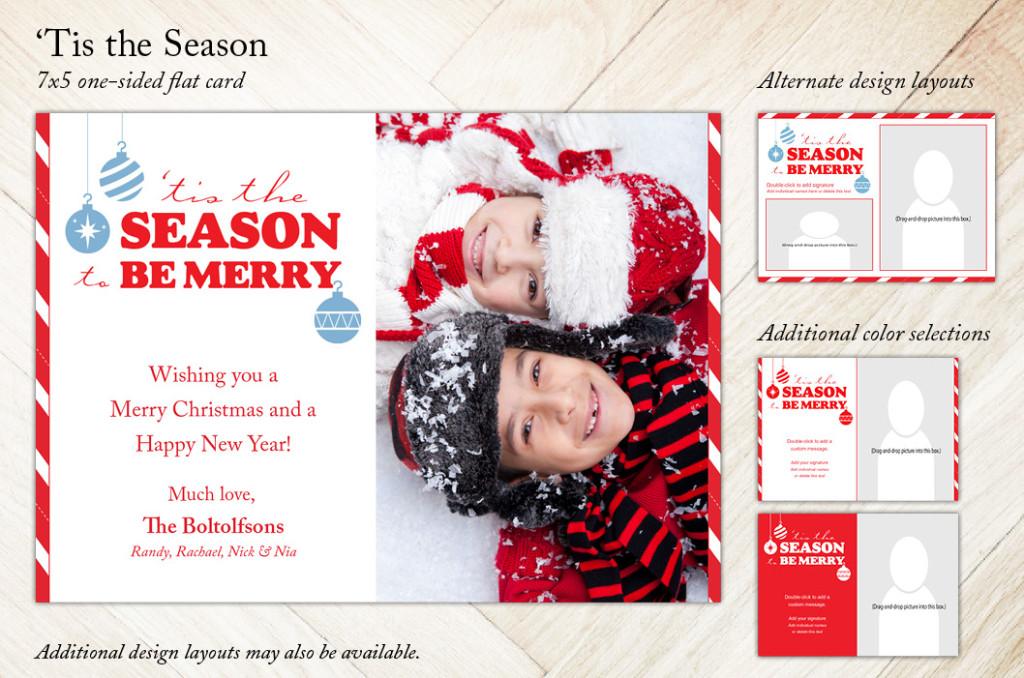 Tis the Season Holiday Christmas Card