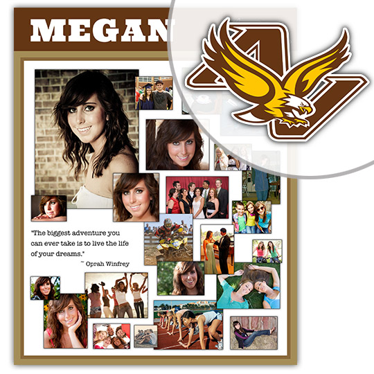 Create a High School Graduation Poster for your Apple Valley High School graduate!