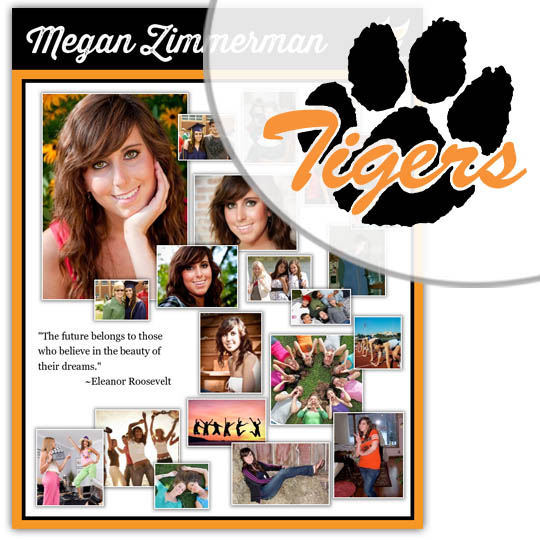 Create a High School Graduation Poster for your Farmington High School graduate!