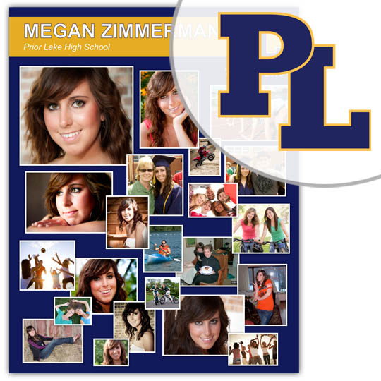 Create a High School Graduation Poster for your Prior Lake High School graduate!
