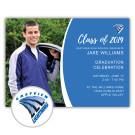 School Spirit, Eastview High School - Focus in Pix Graduation Party Invitation or Announcement