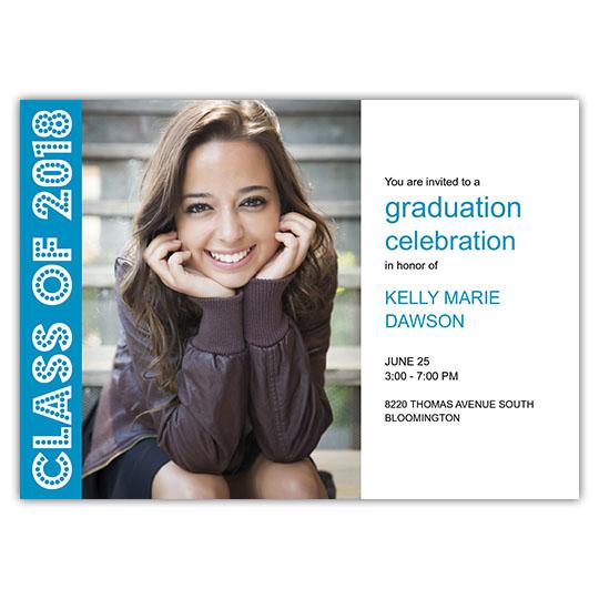 Color Blocks - Focus in Pix Graduation Card