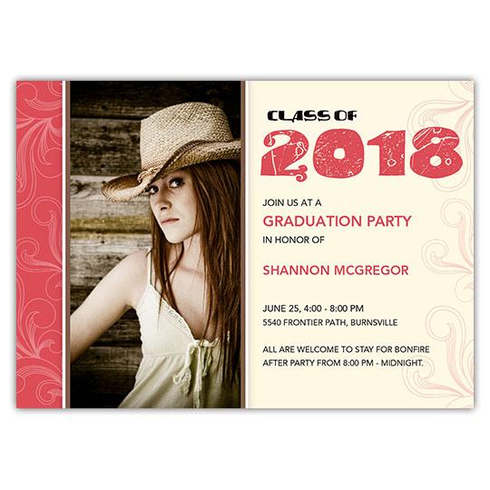 Mod de Fleur- Focus in Pix Graduation Card