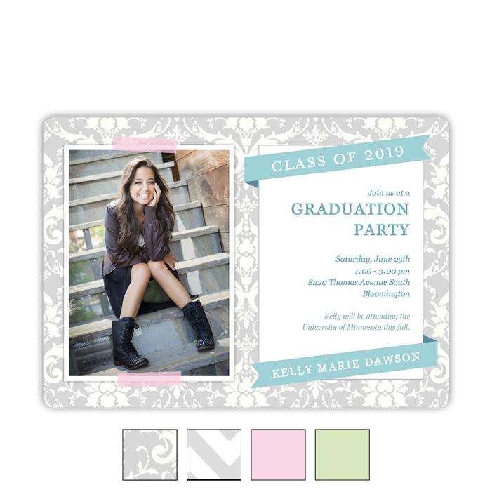 Dreaming Pastel - Focus in Pix Graduation Card