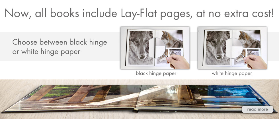 Lay-Flat Pages