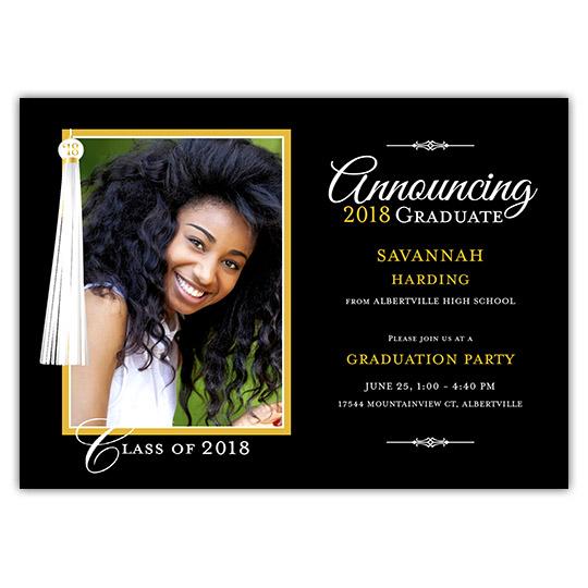 Tassel - Focus in Pix Graduation Card