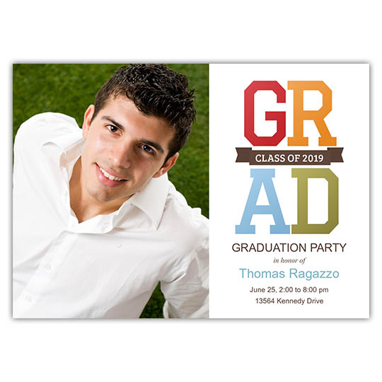 Collegiate - Focus in Pix Graduation Card