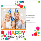 Cheery New Year 5x7 2-Sided