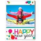 Cheery New Year 5x7 Fold Card