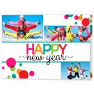 Cheery New Year 7x5 Fold Card