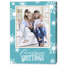 Flakes Flurry, Focus in Pix Holiday Christmas Card