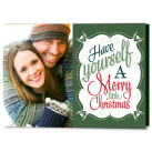 7x5 Focus in Pix Holiday Christmas Card