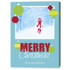 5x7 Focus in Pix Holiday Christmas Card