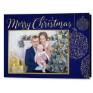 Focus in Pix 7x5 Fold Holiday Christmas Card