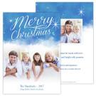 Sky and Stars Holiday Christmas Card