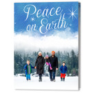 Sky and Stars 5x7 Fold, Focus in Pix Holiday Christmas Card