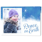Sky and Stars 7x5 Fold, Focus in Pix Holiday Christmas Card