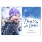 Sky and Stars 7x5, Focus in Pix Holiday Christmas Card