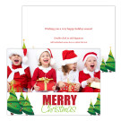 Whimsy Trees Holiday Christmas Card