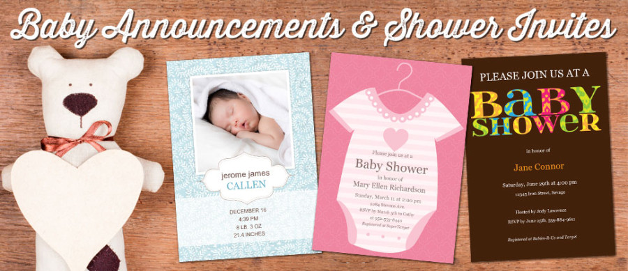 Create custom Baby Cards with Focus in Pix free software