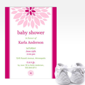 Create custom Baby Shower Invitations with Focus in Pix free software