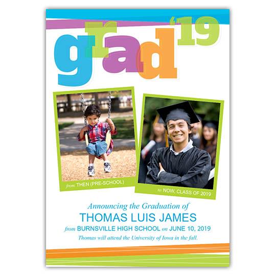 Big Bold Grad - Focus in Pix Graduation Card