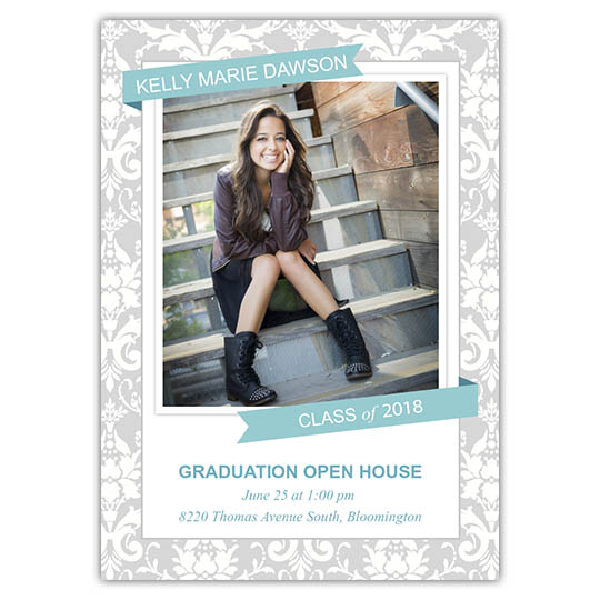 Dreaming Pastel - Focus in Pix Graduation Card