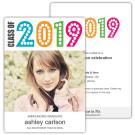 Simply Colorful - Focus in Pix Graduation Card