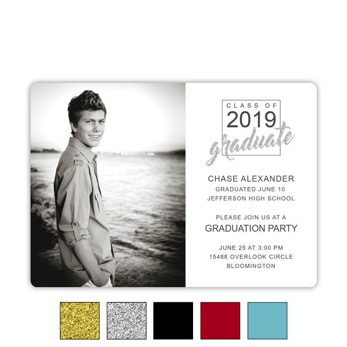 Squared Success - Focus in Pix Graduation Card