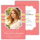 Striped Flair - Focus in Pix Graduation Card