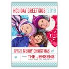 'Holiday Extra' Holiday Christmas Card