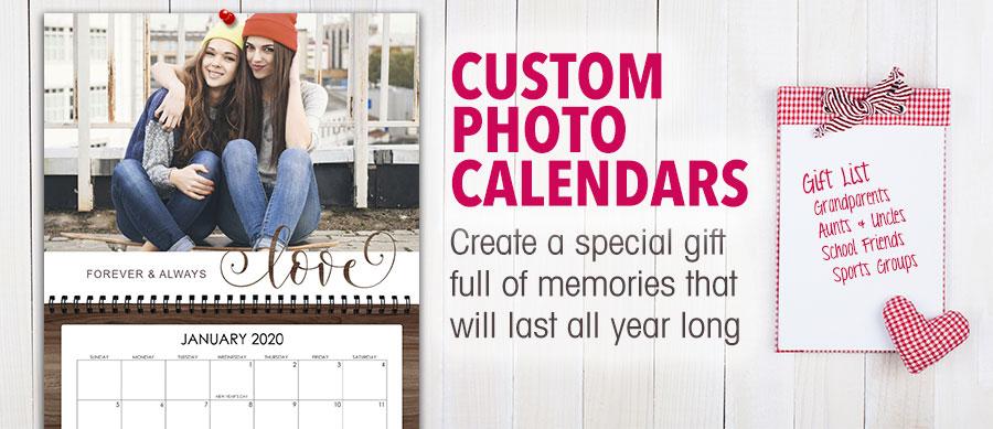 Focus in Pix customizable photo calendars