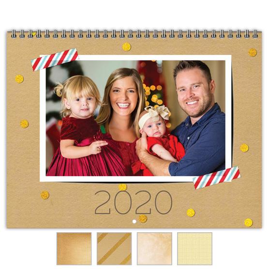 Focus in Pix 'Craft Glitter' calendar