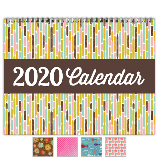 Focus in Pix 'Etched Dashes' calendar