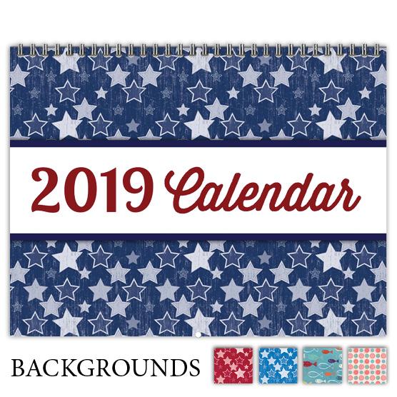 Focus in Pix 'Etched Stars' calendar